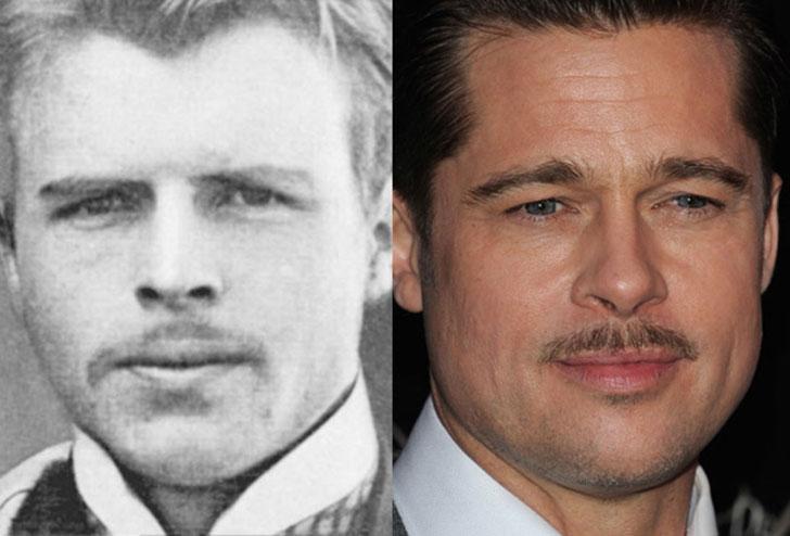 Brad Pitt Hermann Rorschach