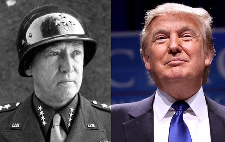 Donald Trump and General George Patton