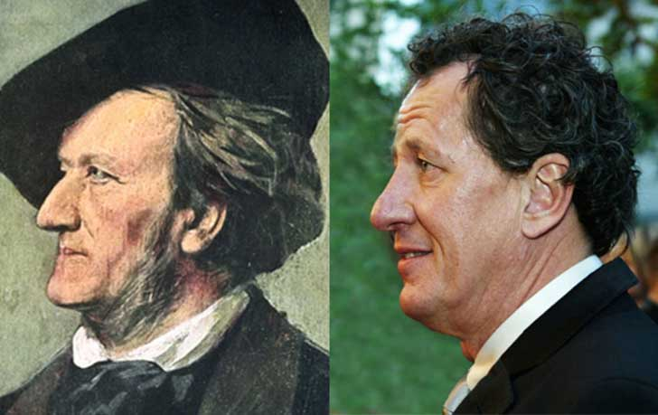 Geoffrey Rush and Richard Wagner