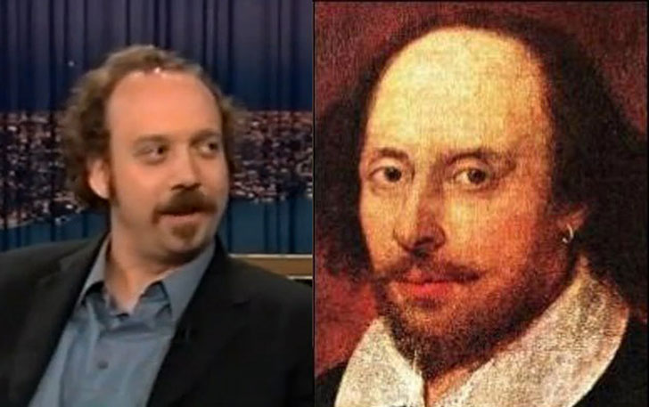 Paul Giamatti and William Shakespeare