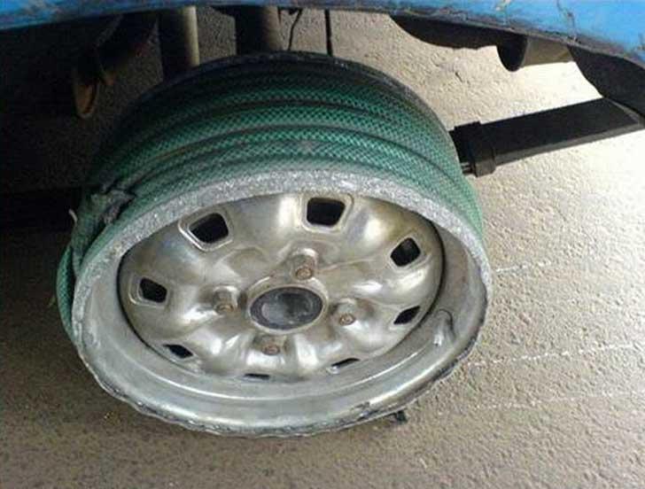hose tire