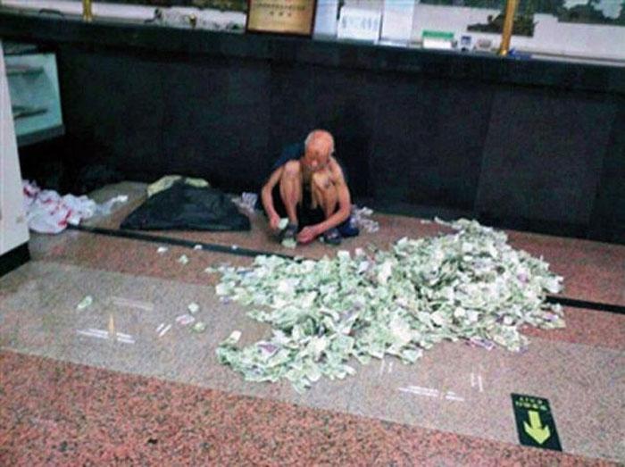 chinese beggar