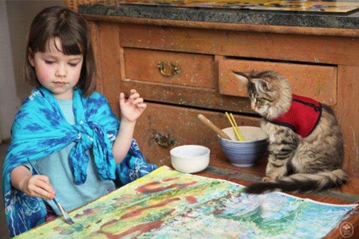 iris grace painting